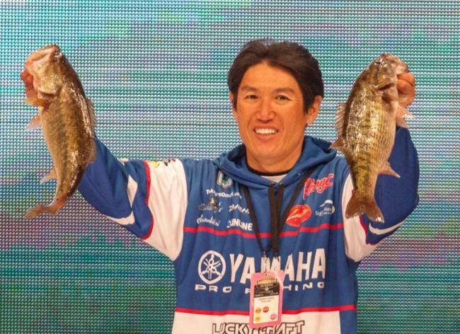 Takahiro Omori, 15-0  Photo: James Overstreet