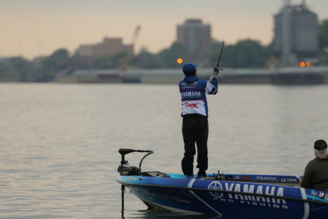 See more action from Day 1 of the Academy Sports + Outdoors Bassmaster Elite at Wheeler Lake. Photo: Seigo Saito